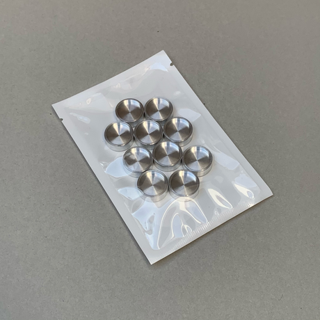 Aluminum Disc(17mm)  10 pcs