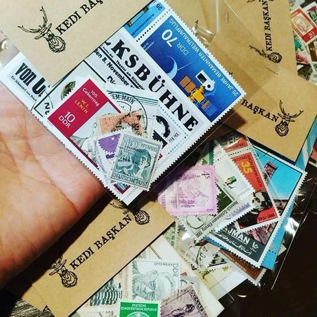 ドイツからやってきた古切手