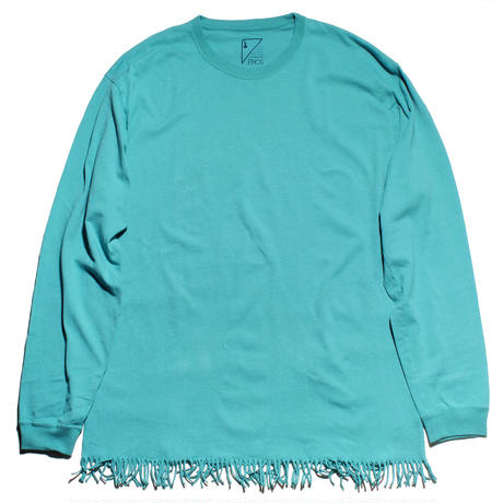 FRINGE LONG TEE (CONIFER)