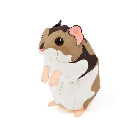 ジャンガリアンハムスター : Djungarian Hamster(紙工作キット)