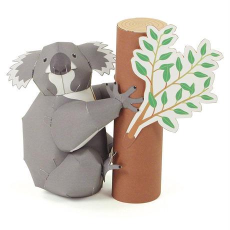 コアラ:Koala(紙工作キット)