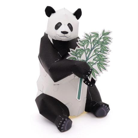ジャイアントパンダ:Giant Panda    (紙工作キット)