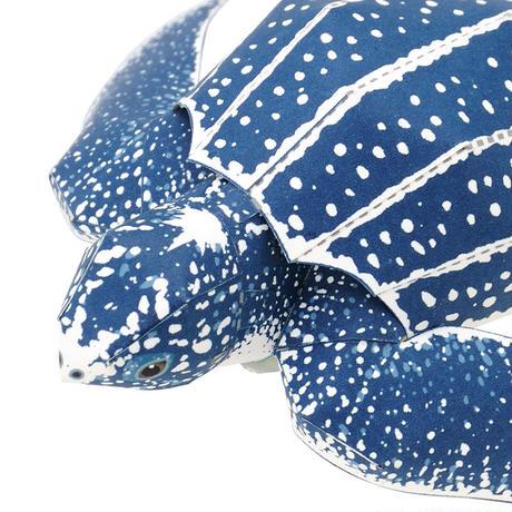 オサガメ:Leatherback turtle(紙工作キット)