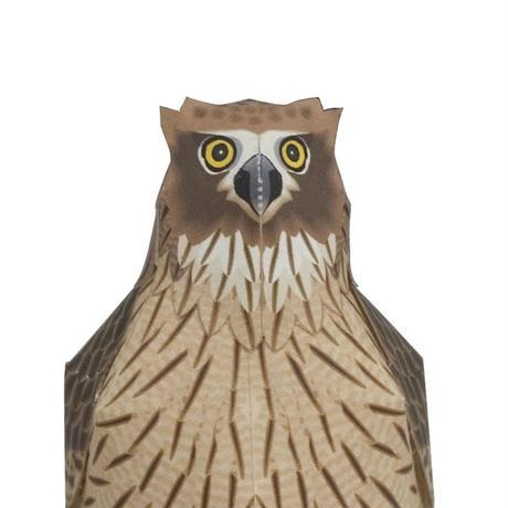 シマフクロウ:Blakiston's Fish-Owl(紙工作キット)