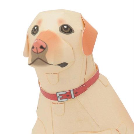 ラブラドール レトリーバー:Labrador Retriever(紙工作キット)