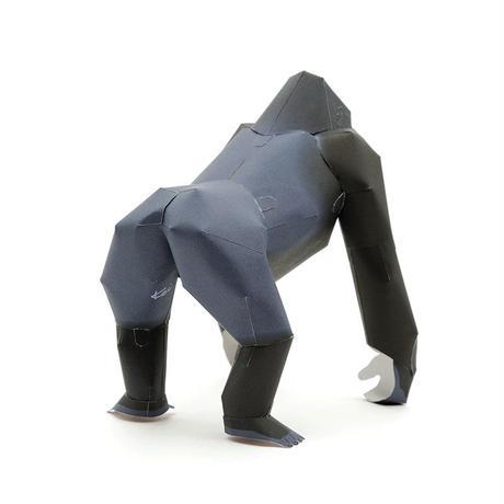 ニシローランドゴリラ:Western Lowland Gorilla      (紙工作キット)