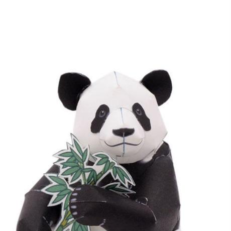 ジャイアントコパンダ:Giant Panda  Cub  (紙工作キット)