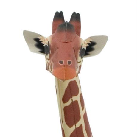 アミメキリン:Reticulated Giraffe      (紙工作キット)