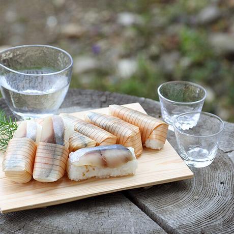 杉鮓 sugizushi 7切(紙箱)※3種セット(プレーン3切、実山椒2切、生姜2切)