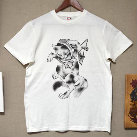 化け猫Tシャツ(メンズ)