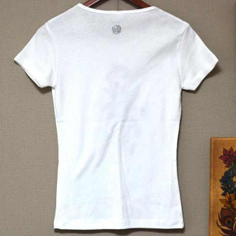 化け猫Tシャツ(レディース)