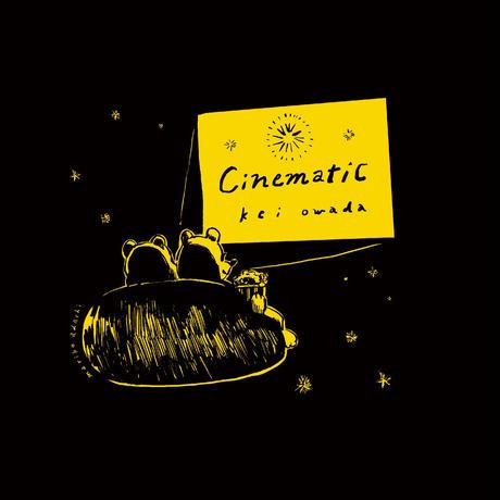 「シネマティック」× 安達茉莉子コラボステッカー