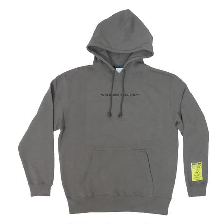 CAR CLUB HOODY (CHARCOAL GREY)