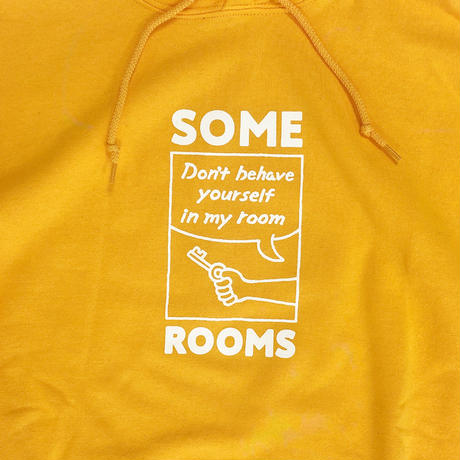 SOME ROOMS HOODIE [GOLD]