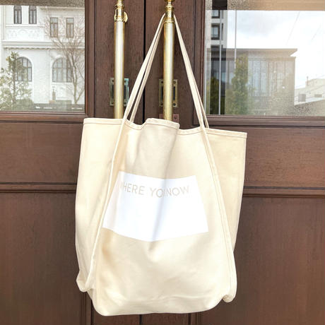 WHERE YOU KNOW TOTE [NATURAL]