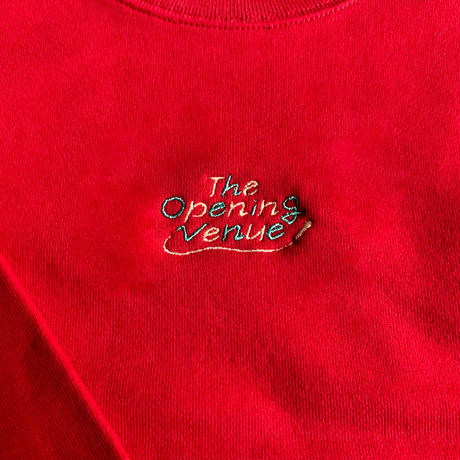 THE OPENING VENUE KIDS SWEAT [RED]