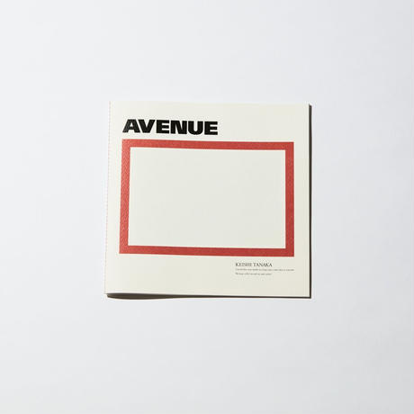 AVENUE ZINE [PHOTO + 1SONG]