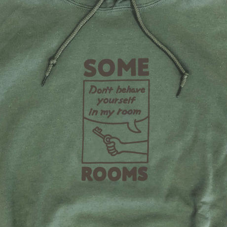 SOME ROOMS HOODIE [MILITARY GREEN]