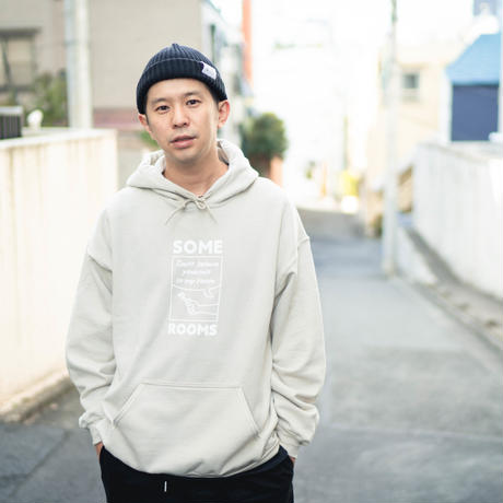 SOME ROOMS HOODIE [BLACK]