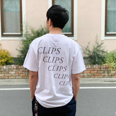 CLIPS TEE [WHITE]