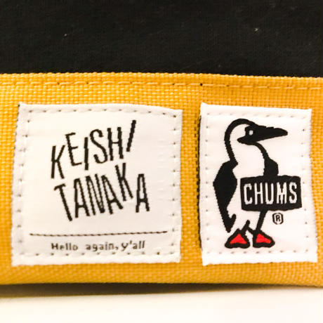 CHUMS POUCH [YELLOW×BLACK]