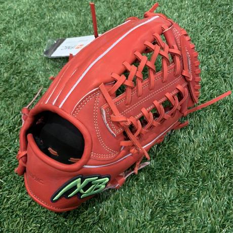 アクセフベルガード軟式外野手用グローブ右投げ用ステアレザー