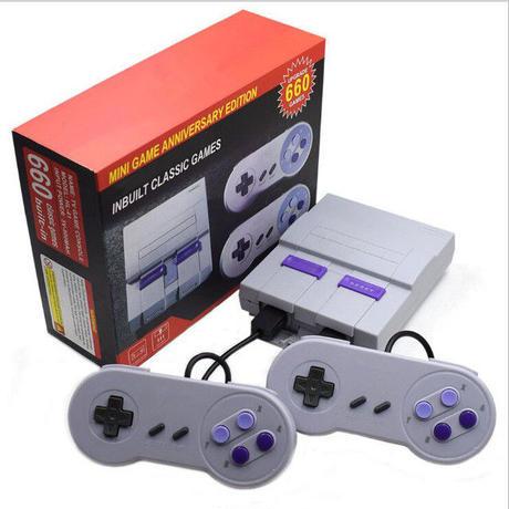 レトロゲーム ミニテレビ 8bit ファミリー ビデオゲーム コンソール 660タイトル