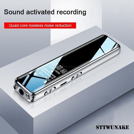 STTWUNAKE ボイスレコーダー オーディオペンディクタフォン レコーダー 音声 録音 32GB