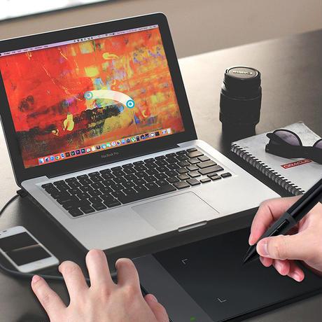 HUION ペンタブレット デジタル タブレット グラフィック 描画 デザイン