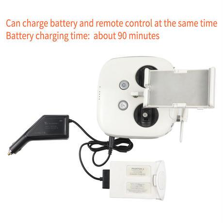車の充電器でドローン充電 バッテリー リモコン充電 6A出力 急速充電 ドローン