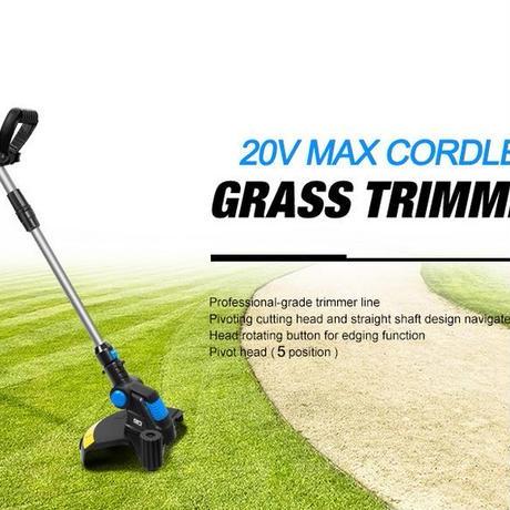 芝刈り機 芝生 電気 草トリマー リチウムイオン コードレス 庭メンテナンス