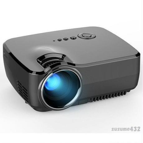 小型 モバイルプロジェクター GP70 LED 18〜220インチ 1080P ホームシアター