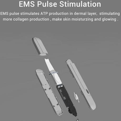 Inface スキンスクラバー 超音波 イオン クレンジング EMS パルス 刺激 フェイシャル 毛穴 クリーナー