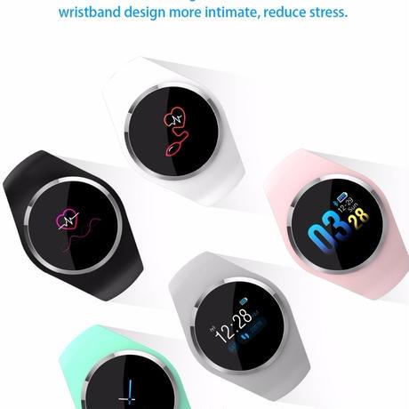 SBAO android iOS スマートウォッチ メンズ レディース 血圧計 着信電話 スマートブレスレット 活動量計 心拍計 血圧測定 歩数計