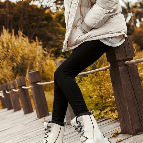 PINSEN 2019 女性 高品質ファッション スノーブーツ