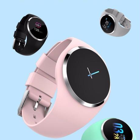 46ad389d4b SBAO android iOS スマートウォッチ メンズ レディース 血圧計 着信電話 スマートブレスレット 活動量計 ...