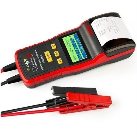 BST500 12V & 24V 車 バッテリーテスター 自動車診断ツール サーマルプリンター内蔵