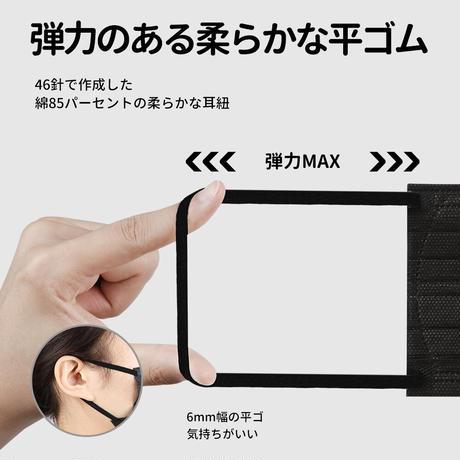 送料無料!【立体型マスク】 BFE/PFE/VFE99% 三層抗菌防護 個包装 不織布 日本基準マスク