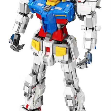 スーパーロボット大戦 メカ ガンダム RX78 60cm 3500個のブロック おもちゃ 組み立て