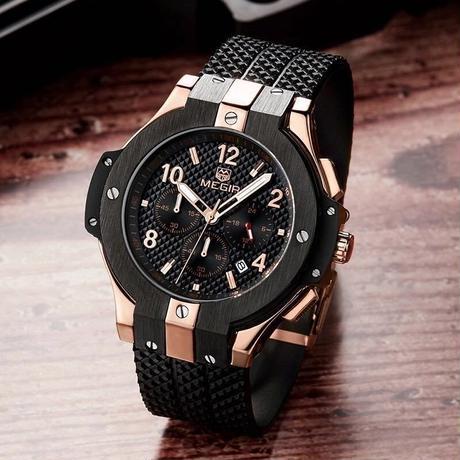 クロノグラフ ウォッチ 時計 海外並行輸入品 ブランド 高品質 クリエイティブ スポーツ ミリタリー クォーツ 腕時計 HUBLOT ウブロ