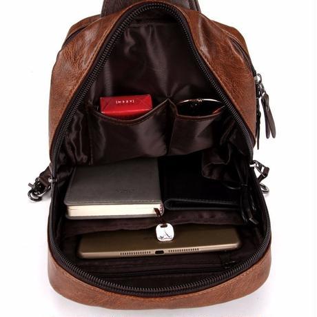 ボディバッグ 肩掛け メンズ VICUNA POLO 海外ブランド 高級 レザー ヴィンテージ 選べる3色 ワンショルダー