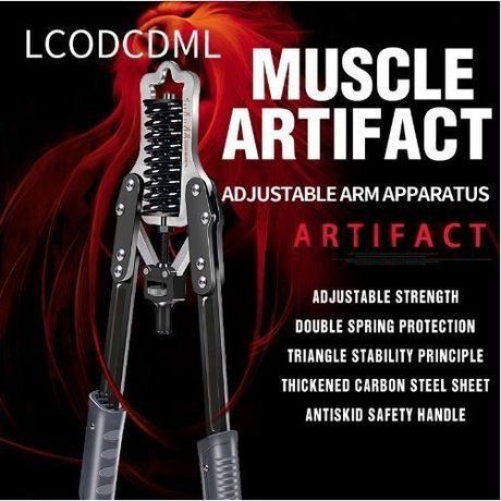 腕力 胸筋 トレーニングマシン MAX荷重60kg フィットネス ジム ブラック