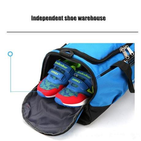 シューズポケット 男性 女性 アウトドア フィットネス トレーニング 防水 スポーツジムバッグ