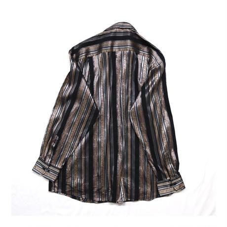 UK Black Stripe Design L/S shirt