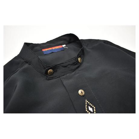 U.K Stand collar Design L/S shirt