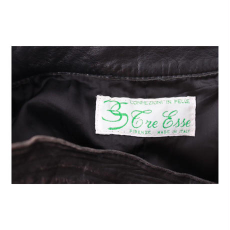 Vintage Leather Medium-Skirt