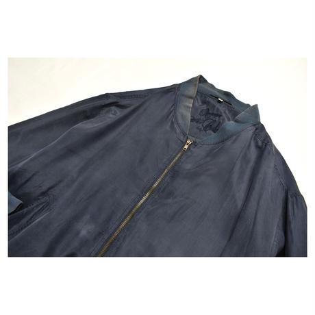 Euro Vintage Silk Blouson