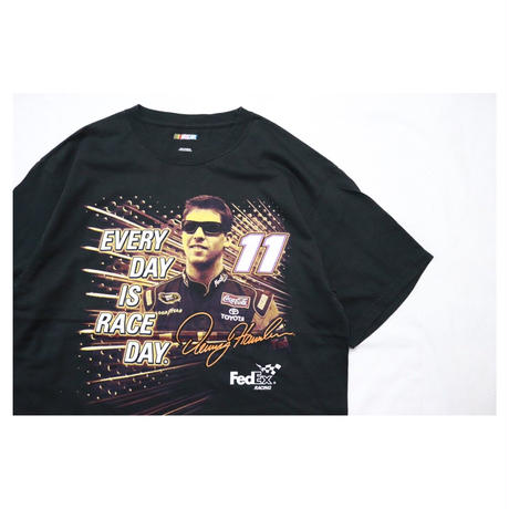 00s NASCAR DENNY HAMLIN Design S/S T-shirt