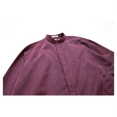 Stand collar L/S shirt