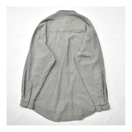 Stand collar Design L/S shirt